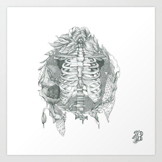 B L O S S O M Art Print
