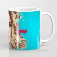 lana Mugs featuring Lana by Devis Pederzini