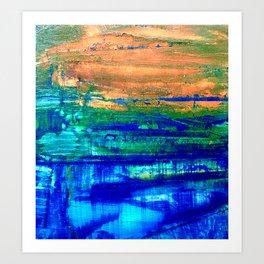 Hinterland 2  Art Print