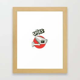 The spies Framed Art Print