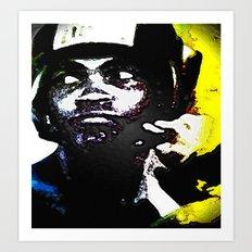 Muhammad Ali By CD Kirven Art Print