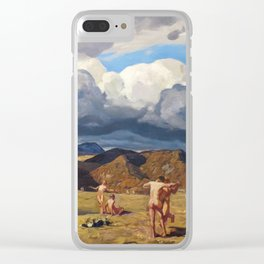 Men and Mountains by Rockwell Kent, 1909 Clear iPhone Case
