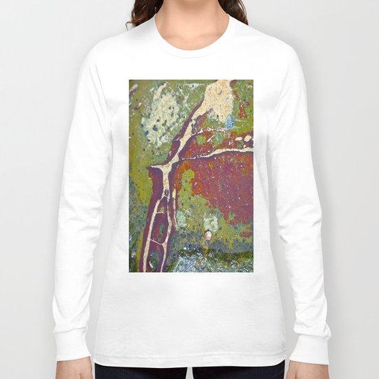 Natures Rock Art Long Sleeve T-shirt