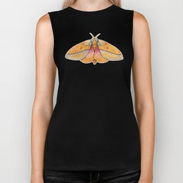 Bisected Honey Locust Moth (Sphingicampa bisecta) Biker Tank