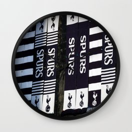 For The Love Of Tottenham Wall Clock