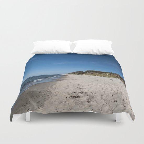Rough seascape Duvet Cover
