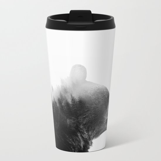 Big Bear Metal Travel Mug
