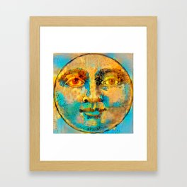 Sun One Framed Art Print