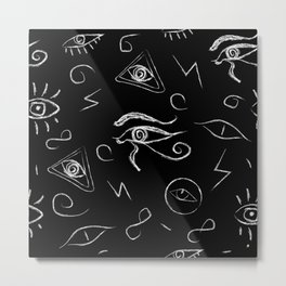 Mystery Eye Metal Print