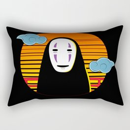 No Face a Lonely Spirit Rectangular Pillow