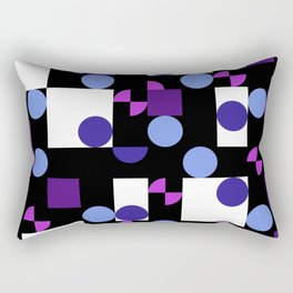 Abstract Geometry 2 Rectangular Pillow