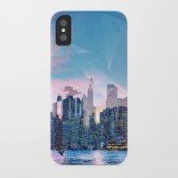 manhattan iPhone & iPod Cases featuring Manhattan by Esco