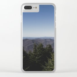 Mount Mitchell View Clear iPhone Case