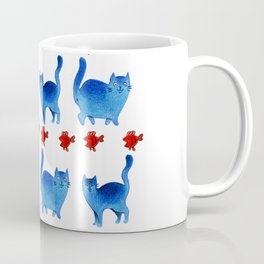Phtalo cats Coffee Mug