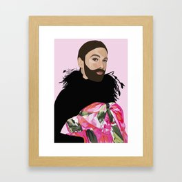 queen jvn Framed Art Print