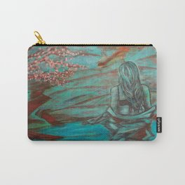 Wading Woman Carry-All Pouch