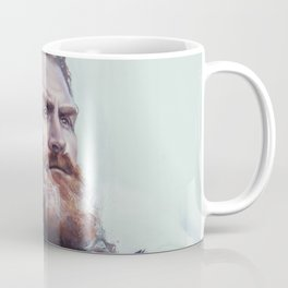We are kissed by fire. Coffee Mug