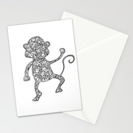 cheeky monkey Stationery Cards