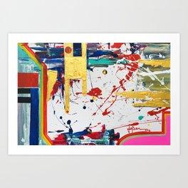 Juxtapose #2 Art Print