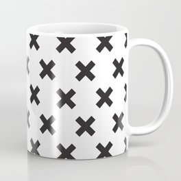 X black Coffee Mug