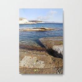ROCKY ISLAND - Sardinia - Italy  Metal Print