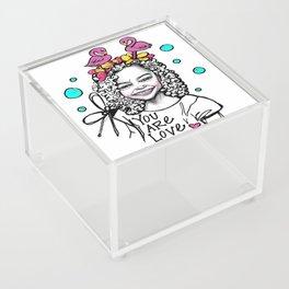 #STUKGIRL ESSA Acrylic Box