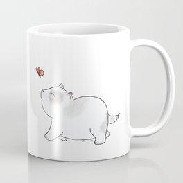 Wait for me, Butterfly. Coffee Mug