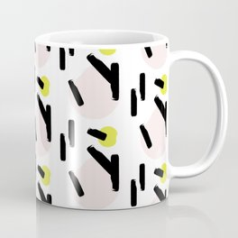 Beige circles Coffee Mug