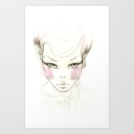 Cheeks! Art Print