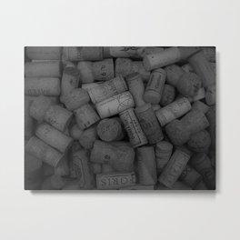 Darker Corks Metal Print