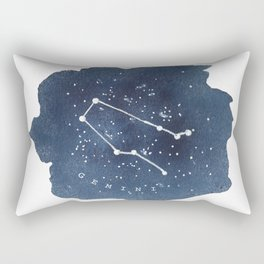 gemini constellation zodiac Rectangular Pillow