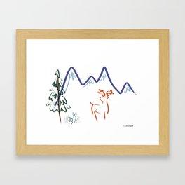Mountain Air I Framed Art Print