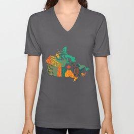 Canada Unisex V-Neck