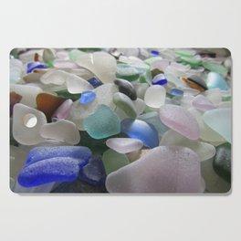 Sea Glass Assortment 6 Cutting Board