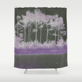 Tranquility in Shades of Lavender Shower Curtain