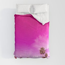 Palm Springs Rush Hour Comforters