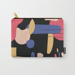 Abstract Color 2 Carry-All Pouch