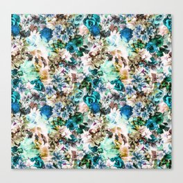 Floral Pattern V2 Canvas Print