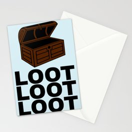 Loot Loot Loot Stationery Cards