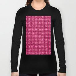 Gold dots on magenta - soft pastel Long Sleeve T-shirt