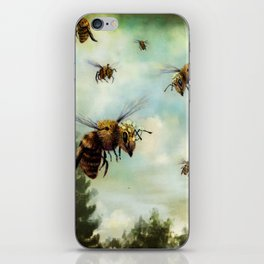 Crown of Bees iPhone Skin