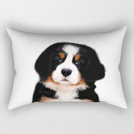 Bernese mountain dog puppy Rectangular Pillow