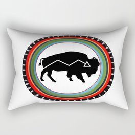 BISON PATH Rectangular Pillow