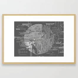 systems Framed Art Print