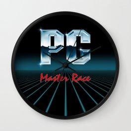 PC Master Race 80s Wall Clock