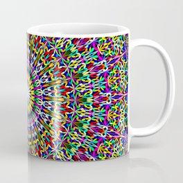 Floral Bohemian Magic Mandala Coffee Mug