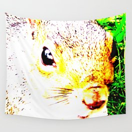 The many faces of Squirrel 1 Wall Tapestry