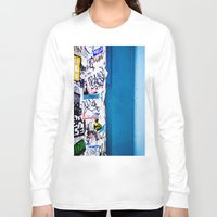 urban Long Sleeve T-shirts featuring Urban by Maite Pons