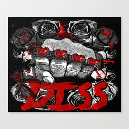 For my haters.. (with love!!!) Vol2 Canvas Print