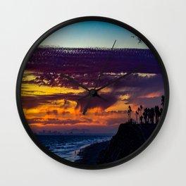 Just Bluffin - Huntington Beach 2015 Wall Clock